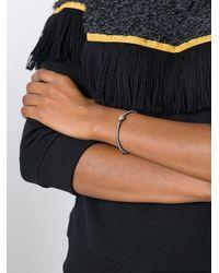 Monan - Metallic Diamond Heart Beaded Bracelet - Lyst