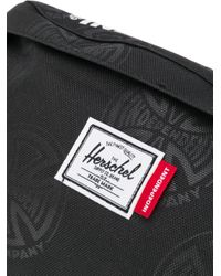 Herschel Supply Co. ロゴ ベルトバッグ Black