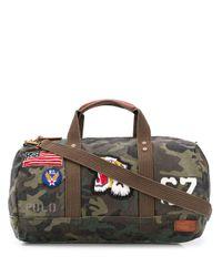 Polo Ralph Lauren Green Large Tote Bag for men