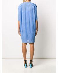 Nina Ricci Blue T-Shirt mit lockerem Schnitt