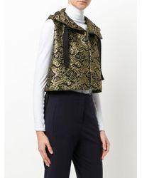 Dorothee Schumacher - Metallic Cropped Jacquard Jacket - Lyst