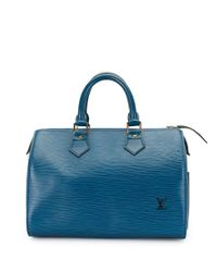 Louis Vuitton Blue 1993 Pre-owned Speedy 25 Handbag