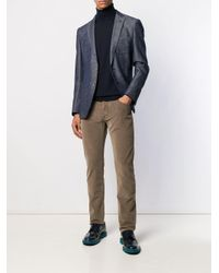 Pantalones slim Jacob Cohen de hombre de color Brown