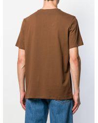 メンズ A.P.C. ロゴ Tシャツ Brown