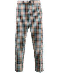 メンズ Vivienne Westwood チェック パンツ Multicolor