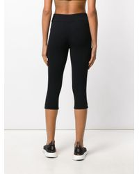 No Ka 'oi Black Capri Cropped leggings
