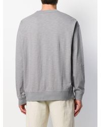 T-shirt a maniche lunghe di YMC in Gray da Uomo