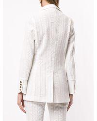 Blazer monopetto Marbella di We Are Kindred in White