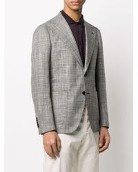 Tagliatore Black Single Breasted Jacket for men