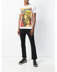Camiseta estampada The Lone Buffalo DSquared² de hombre de color White