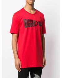 メンズ Philipp Plein ロゴ Tシャツ Red