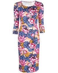 Mary Katrantzou フローラル ドレス Multicolor