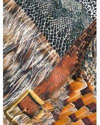 Pierre Louis Mascia アニマルプリント スカーフ Multicolor
