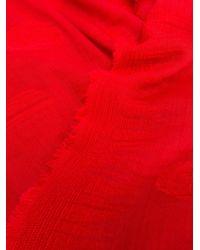 Alexander McQueen ポルカドット スカーフ Red