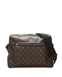 Louis Vuitton 2010s プレオウンド マカサー トーレス ショルダーバッグ Brown