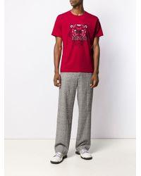 メンズ KENZO タイガー Tシャツ Red