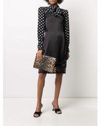 Dolce & Gabbana レオパード クラッチバッグ Multicolor