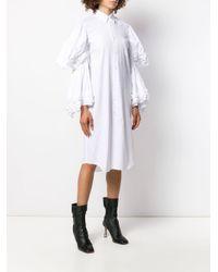 Comme des Garçons レイヤードスリーブ シャツドレス White
