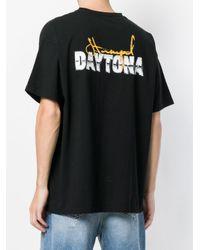 Stampd Black Logo Print T-shirt for men