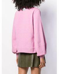 Ganni Isoli スウェットシャツ Pink