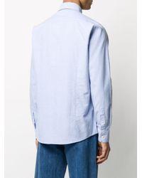 メンズ Barbour Tf 8 オックスフォード シャツ Blue