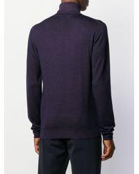 メンズ Etro タートルネック セーター Blue