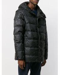 メンズ Adidas ロゴ パデッドジャケット Black