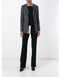 Alberto Biani Black Tailored Trousers