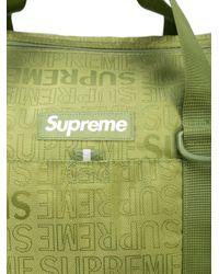 Supreme ロゴ ボストンバッグ Green