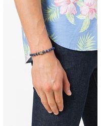 Fefe - Blue Beaded Bracelet for Men - Lyst