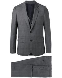 Paul Smith | Gray Three-piece Suit for Men | Lyst