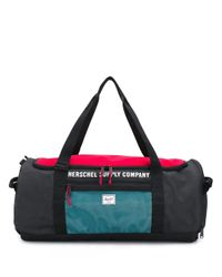 Herschel Supply Co. ロゴ プリント ボストンバッグ Multicolor