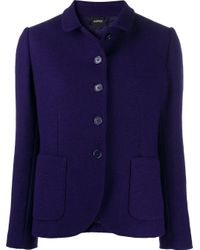 Aspesi シングルジャケット Purple