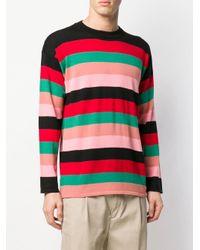 メンズ Loewe ストライプ セーター Multicolor