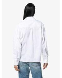 Anouki ボタンシャツ White
