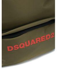 メンズ DSquared² ロゴ バックパック Green