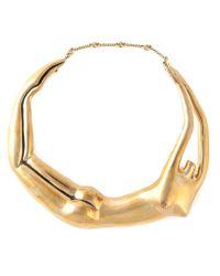 Aurelie Bidermann Metallic 'body' Necklace