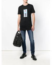 Diesel Black Gold Black Tyrone Lollypop T-shirt for men