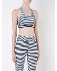 The Upside White Striped Top