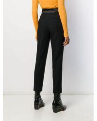 Pantalon de costume slim Etro en coloris Black