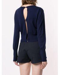Jersey con cierres estilo lencería Dion Lee de color Blue