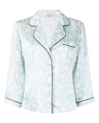 Пижамная Рубашка Kinsley Morgan Lane, цвет: Blue