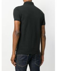 Polo Ralph Lauren Black Slim-fit Polo Shirt for men