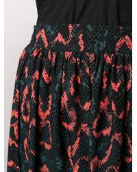 Юбка Миди Со Змеиным Принтом Calvin Klein, цвет: Black