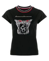 Ermanno Scervino ロゴ Tシャツ Black
