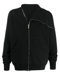 Veste bomber à col italien Rick Owens Drkshdw pour homme en coloris Black