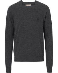 メンズ Burberry モノグラム セーター Multicolor