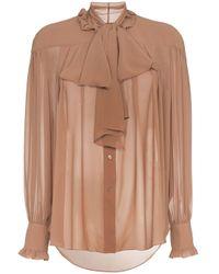 Blusa con fiocco di Rejina Pyo in Multicolor