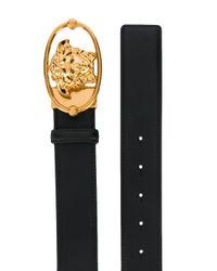 Cintura con testa di Medusa di Versace in Black