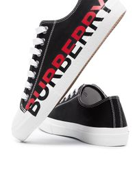 Zapatillas Larkhall Burberry de color Black